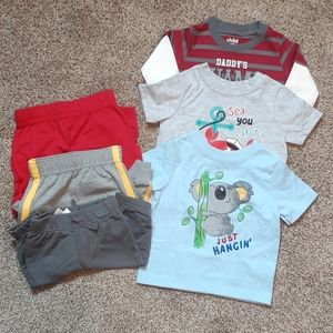 NWOT Lot of baby boys clothes 0-9 months